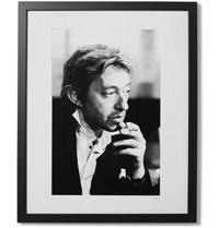 Sonic Editions Framed Serge Print 16 X 20 Black