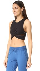 Free People Movement Ribbed Supernova Top Black