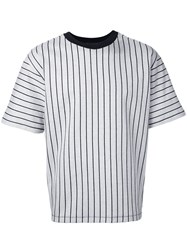 3.1 Phillip Lim Striped T Shirt White