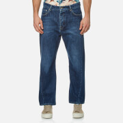 Kenzo Men's Twist Seam Wrap Jeans Navy