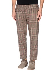 Truenyc. Casual Pants Dark Brown