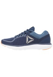 Reebok Astroride Neutral Running Shoes Navy Blue White Orange Dark Blue
