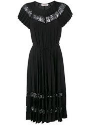 Zimmermann Winsome Sunray Dress Black