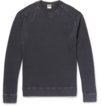 Massimo Alba Garment Dyed Cashmere Sweater Blue