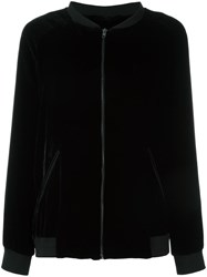 Just Female 'Ware' Bomber Jacket Black