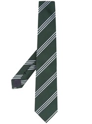 Emporio Armani Striped Silk Tie 60