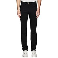 Luciano Barbera Stretch Cotton 5 Pocket Pants Black