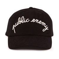 Maison Labiche Public Enemy Cap Black
