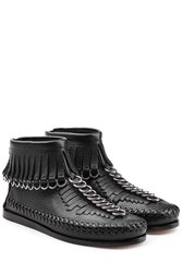 Alexander Wang Leather Moccasins