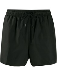 Calvin Klein Logo Swim Shorts Black