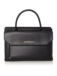 Kenneth Cole Broadway Satchel Handbag Black