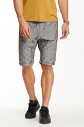 Howe Black Bird Jacquard Short Gray