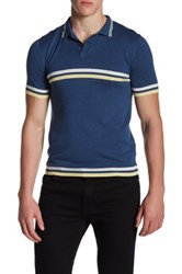 Parke And Ronen Jet Age Polo Blue