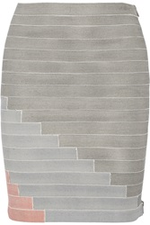 Band Of Outsiders Bandage Mini Skirt