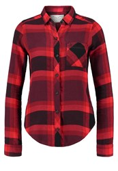 Abercrombie And Fitch Xmas Shirt Red Black