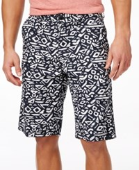 American Rag Men's Allover Printed Shorts Only At Macy's Deep Black