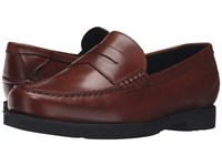 Rockport Modern Prep Penny Dark Tan Men's Shoes Brown