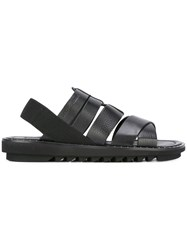 Dolce And Gabbana Gladiator Style Sandals Black