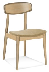 Saloom Furniture Model 100 Skyline Side Chair 100Su Natural Natural Impression Impression Beige