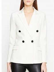 By Malene Birger Caro Double Breasted Blazer White