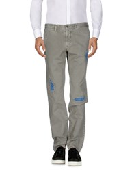 Incotex Red Casual Pants Grey