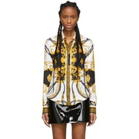 Versace Black And Gold The Rodeo Queen Shirt
