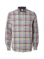 White Stuff Check Classic Fit Long Sleeve Shirt Multi Coloured