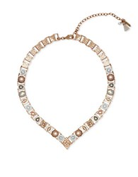 Lonna And Lilly Flower Link Necklace White