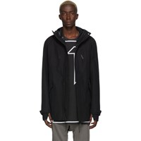 11 By Boris Bidjan Saberi Black Termotaped Jacket