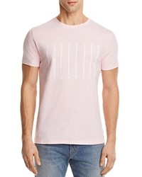 Soulland Barker Graphic Tee Pink