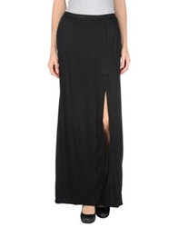 Veronique Branquinho Long Skirts Black