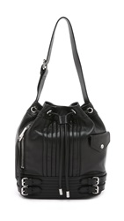Linea Pelle Rowan Bucket Bag Black
