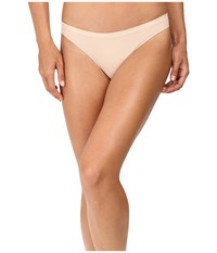Ongossamer Clean Lines Low Rise Thong G2075 Champagne Women's Underwear Gold