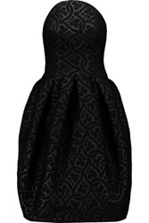 Zac Posen Matelasse Scuba Dress Black