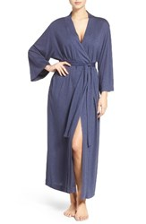 Natori Women's 'Shangri La' Robe Heather Night Blue