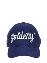 Golden Goose Goldeny Cotton Canvas Baseball Hat
