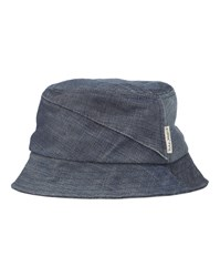 Nudie Jeans Blue Raw Denim Recycled Sun Hat