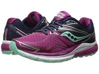 Saucony Ride 9 Purple Blue Mint Women's Running Shoes