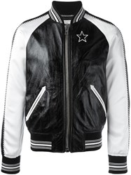 Givenchy Monochrome Bomber Jacket Black