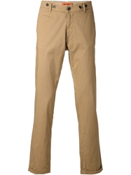 Barena Slim Fit Chinos Nude And Neutrals