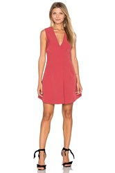 Keepsake Walk The Wire Mini Dress Fuchsia