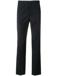 Homecore Straight Leg Trousers Blue