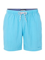 Barbour Drawstring Board Shorts Blue