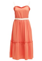Mintandberry Summer Dress Lobster Coral