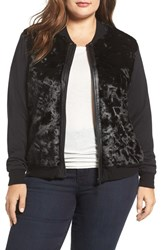 Tart Plus Size Women's Watson Faux Fur Bomber Jacket