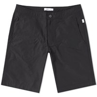 Onia Calder 10 Solid Swim Short Black