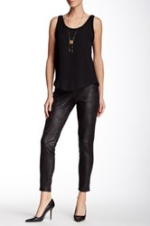 Insight Cracked Faux Leather Legging Black