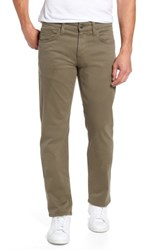 Mavi Jeans Men's Big And Tall Zach Straight Fit Twill Pants Dusty Olive Twill