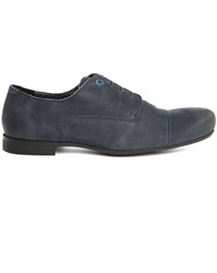 Paul And Joe Belair Navy Suede Tip Toe Derbies