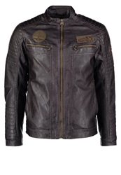 Tom Tailor Faux Leather Jacket After Dark Brown